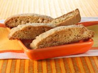 Ginger-Almond Biscotti