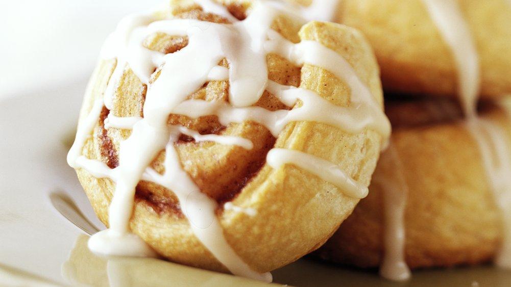 Healthified Quick Cinnamon Rolls