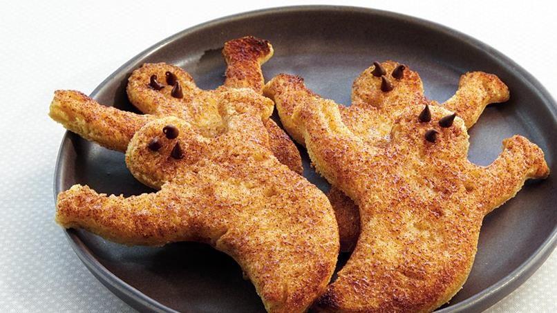Cinnamon-Sugar Ghost Toast