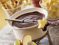 Dark Chocolate Raspberry Fondue