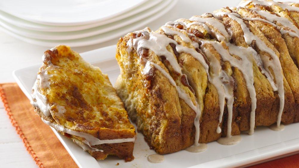 Pumpkin Spice Pull Apart Bread recipe from Pillsbury.com