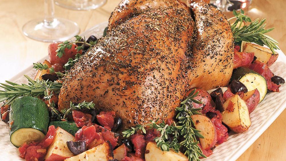 Provençal Roast Chicken