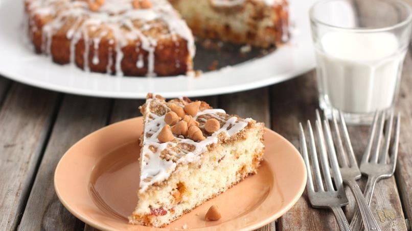 Bacon Butterscotch Coffee Cake
