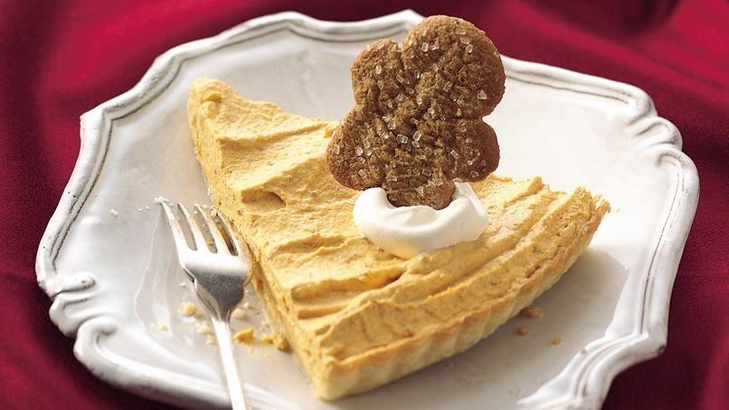 Pumpkin-Ginger Mousse Tart