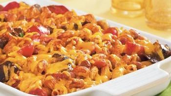 Texas Beef and Pasta Bake