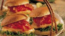 Sándwiches BLT de pollo