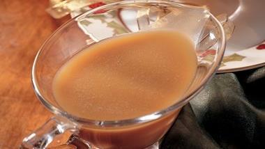 Hot Buttered Rum Sauce