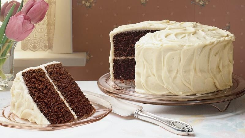 Red Devil's Food Cake recipe from Betty Crocker