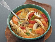 Slow-Cooker Thai Coconut Chicken Soup