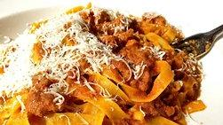 Homemade Spaghetti with Bolognese Sauce