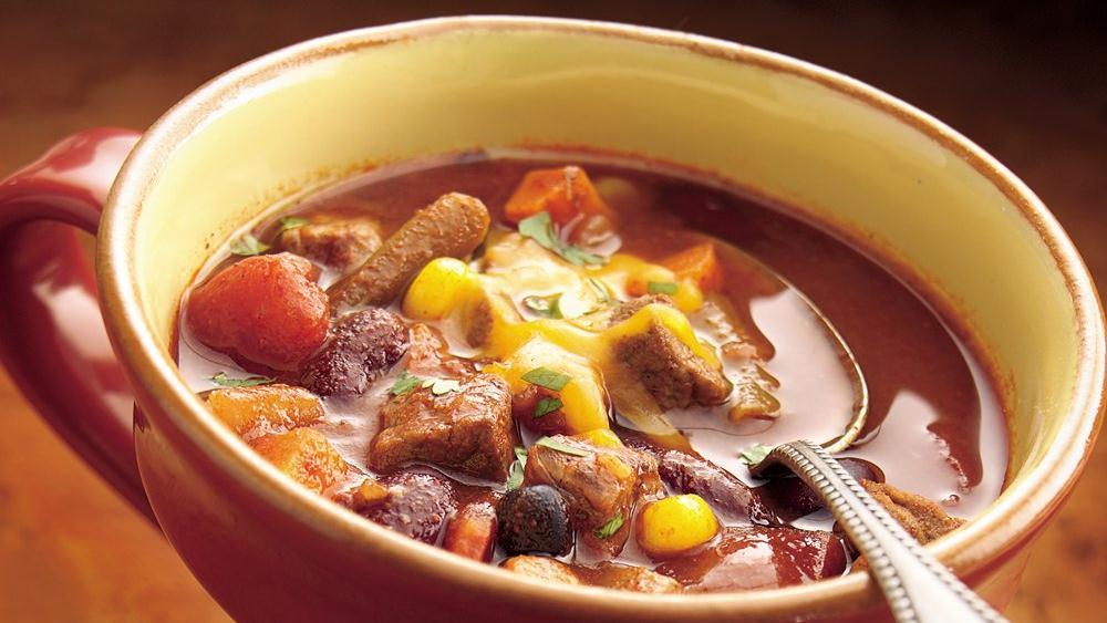 Beef-Vegetable Chili