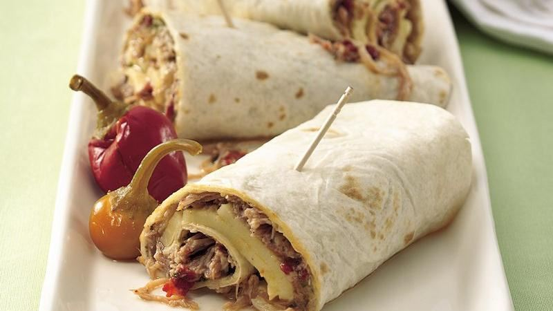Slow-Cooker Italian Turkey Wraps