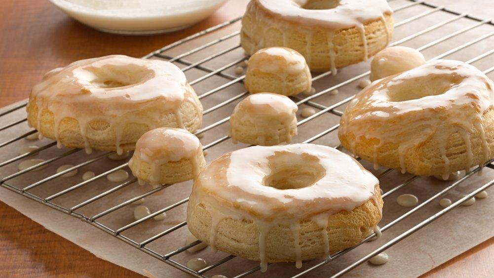 Baked Glazed Doughnuts