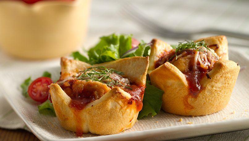 Parmesan Chicken Mini Pies