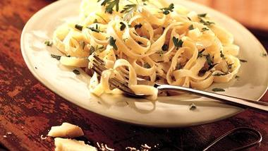 Four-Cheese Fettuccine
