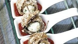 Eggplant Parmesan Bites