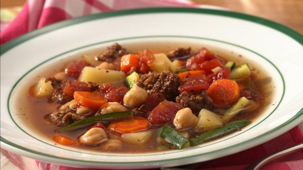 Slow-Cooker Easy Italian Sausage Vegetable Soup