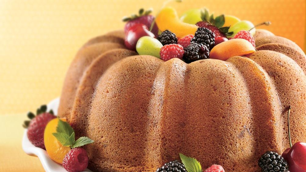 Triple-Ginger Pound Cake