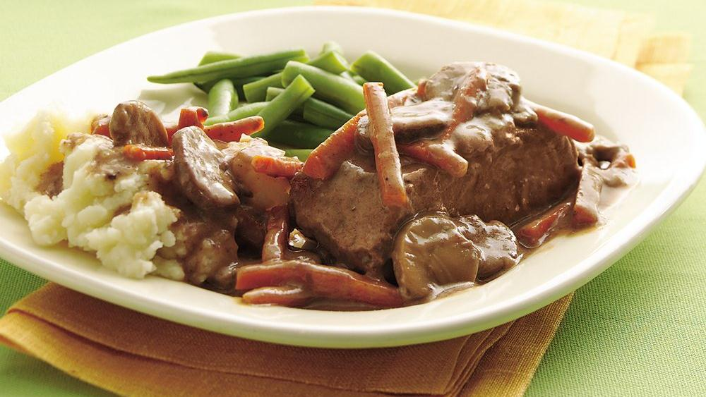 Easy Slow-Cooker Steak Pot Roast