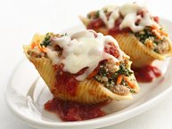 Healthified Sausage-Stuffed Shells