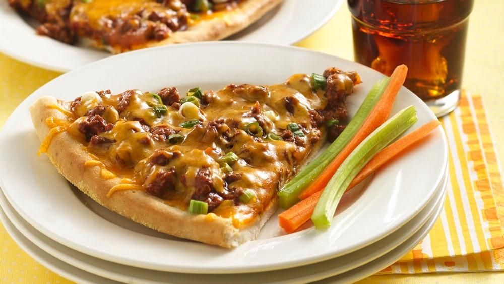 Sloppy Joe Pizza