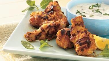 Grilled Seasoned Chicken Drummies