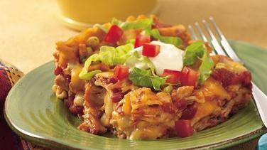 Taco Fiesta Chicken Lasagna