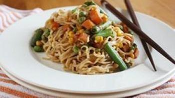 Vegetable Ramen Pad Thai
