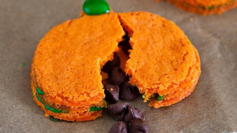 Surprise Pumpkin Cookies