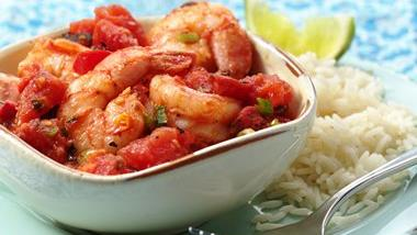 Fire Roasted Shrimp Veracruz