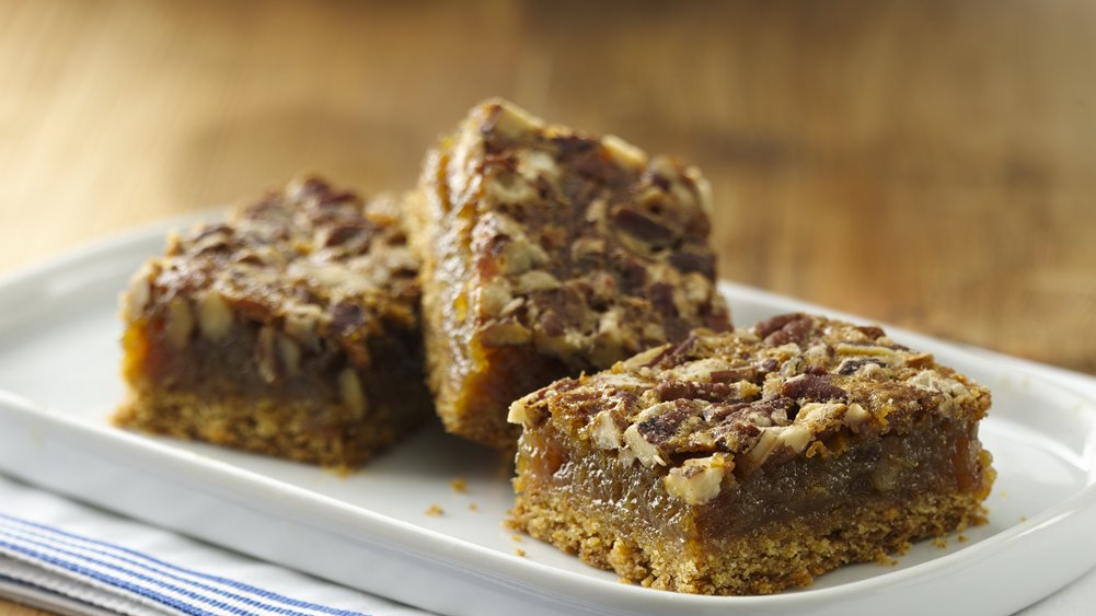 Pecan Pie Surprise Bars recipe from Pillsbury.com