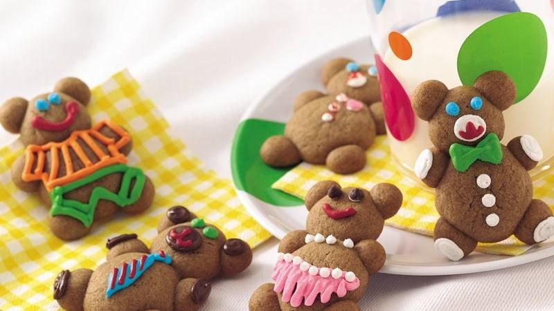 Gingerbread Bear Cookies