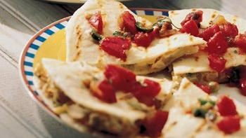 Classic Chicken Quesadillas