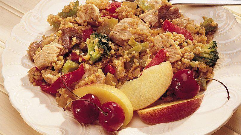 Oriental Stir-Fry with Millet