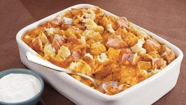 Pumpkin and Spice Bread Pudding