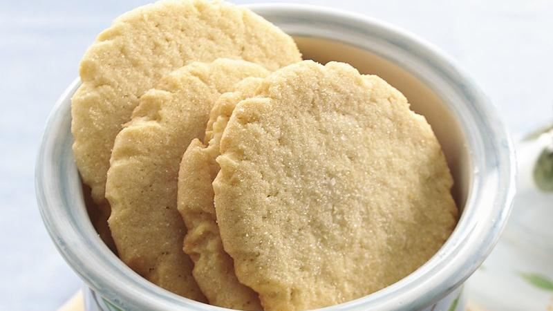 No-Roll Sugar Cookies