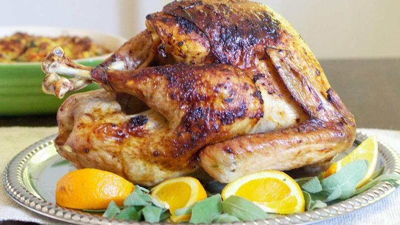Ancho Chile Turkey with Maple Bourbon Glaze