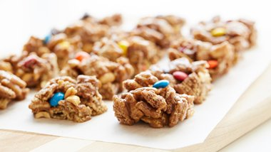 Gluten-Free Peanut and Chocolate Chex™ Bars
