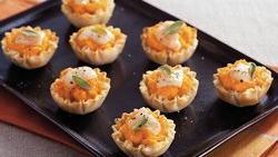 Butternut Squash Tartlets