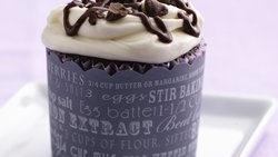 Chocolate-Amaretto Cupcakes