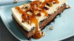 Skinny Turtle Ice Cream Cake