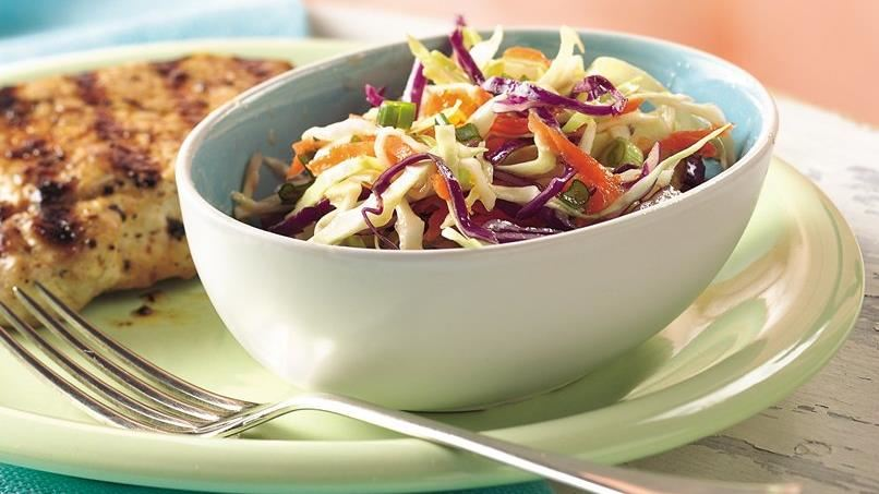 Sweet and Sour Cabbage Slaw