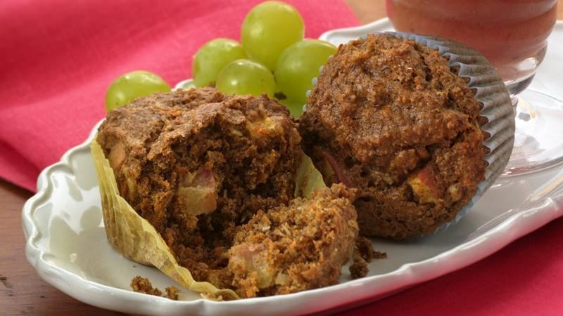 Flaxseed Golden Harvest Muffins