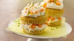 Mango-Jalapeño Cupcake Stacks