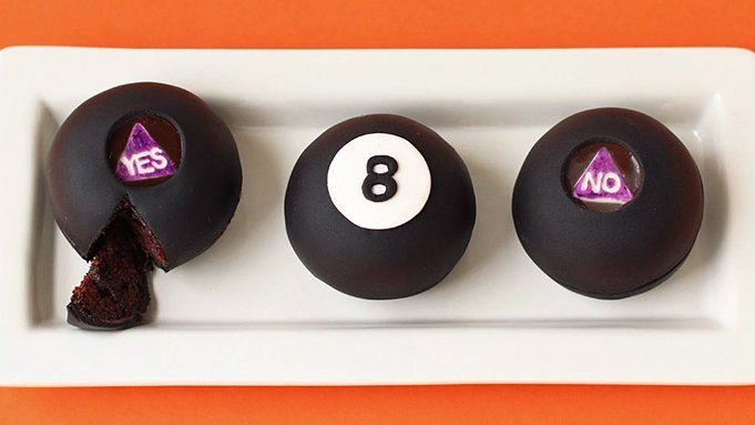 Magic 8 Ball Cakes Recipe From Tablespoon