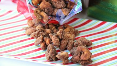 Slow-Cooker Candied Spiced Nuts