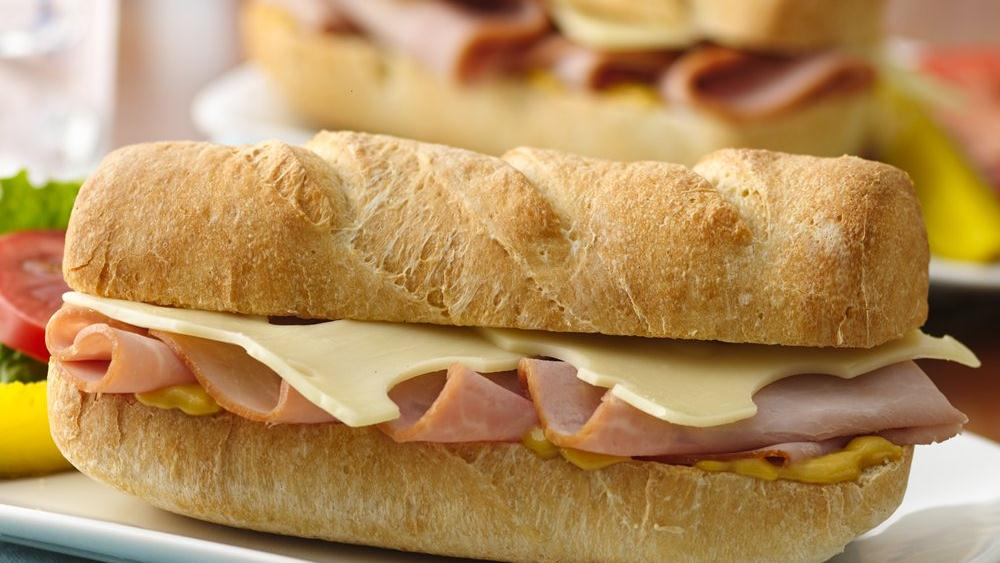Ham and Cheese Subs