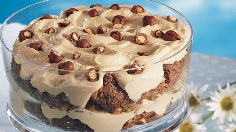 Chocolate-Peanut Butter Trifle