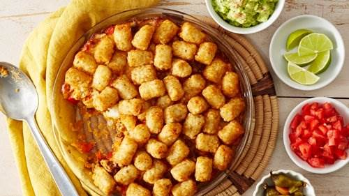 Mexican Beef Tater Tot™ Pie