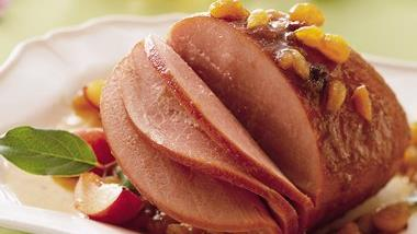 Slow-Cooker Fruited Ham